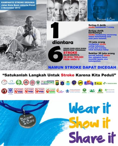 Kampanye Stroke Dunia 2013 di Indonesia